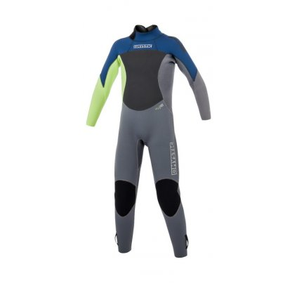 Neoprén Star Fullsuit 5/4mm Bzip Junior, Navy