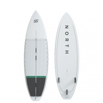 Charge Surfboard II, White