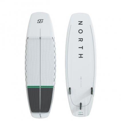 Comp Surfboard II, White