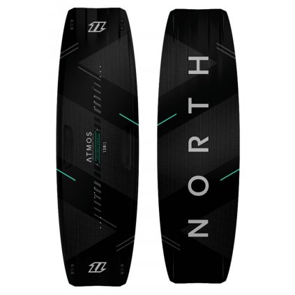 Kiteboard Atmos Carbon TT Board II, Black