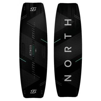 Kiteboard Atmos Carbon TT Board II, Black