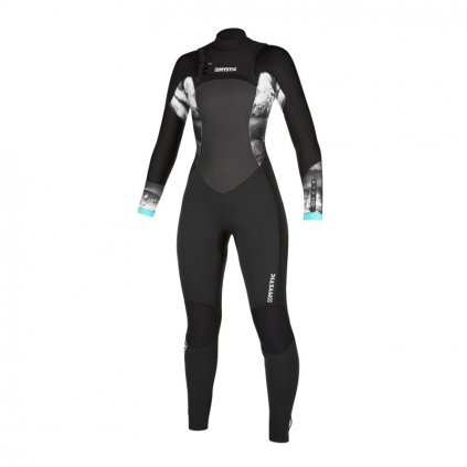 Diva Fullsuit 3/2mm Double Fzip Women, Black