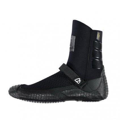 Neoprénové boty Helium Round Toe Boot 6/4mm, Black