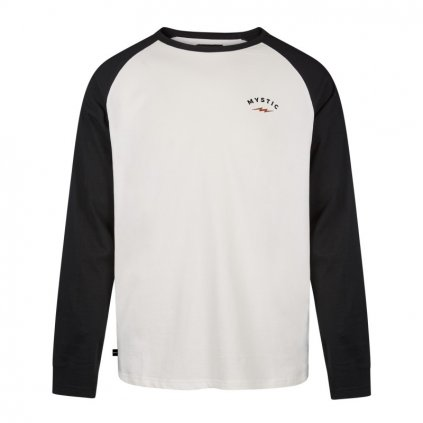 Tričko The Zone L/S Tee, Black/White