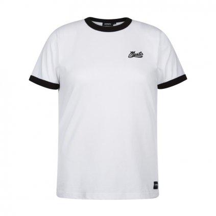 Dámské tričko Classic Ringer Tee Women, White