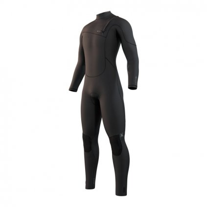 Pánský neoprén The One Fullsuit 3/2mm Zipfree, Black