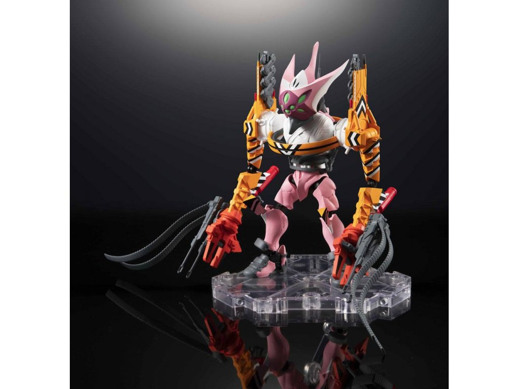 Evangelion: 3.0+1.0 NXEDGE STYLE Action Figure Evangelion Type-08 §-ICC 10 cm --- DAMAGED PACKAGING