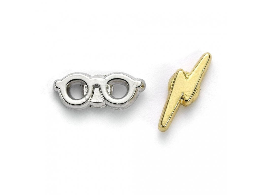 Harry Potter Earrings Lightening Bolt & Glasses