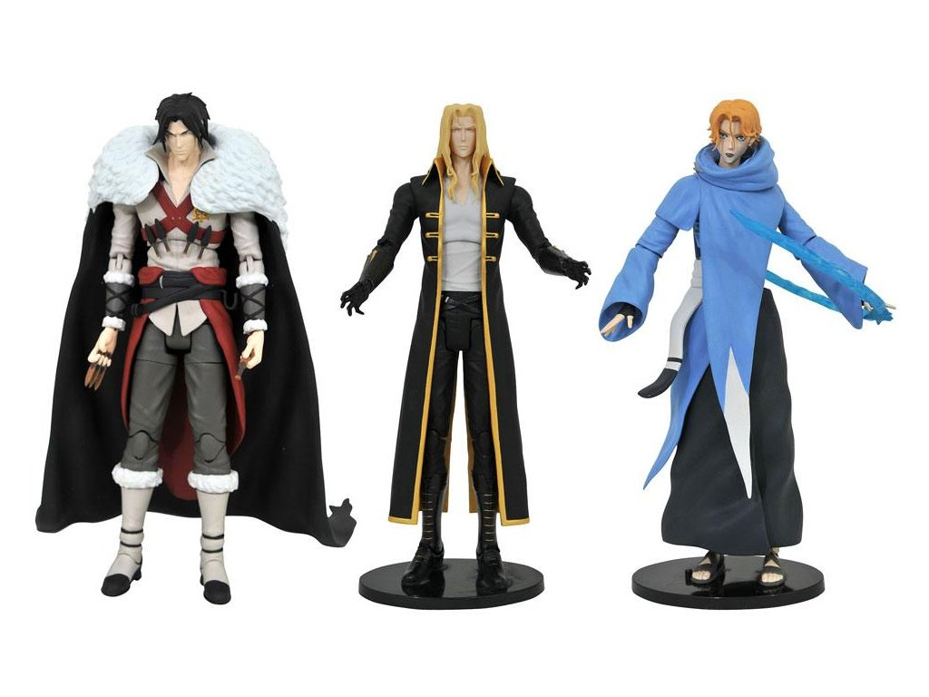 Castlevania Select Action Figures 18 cm Series 1 Assortment (6)