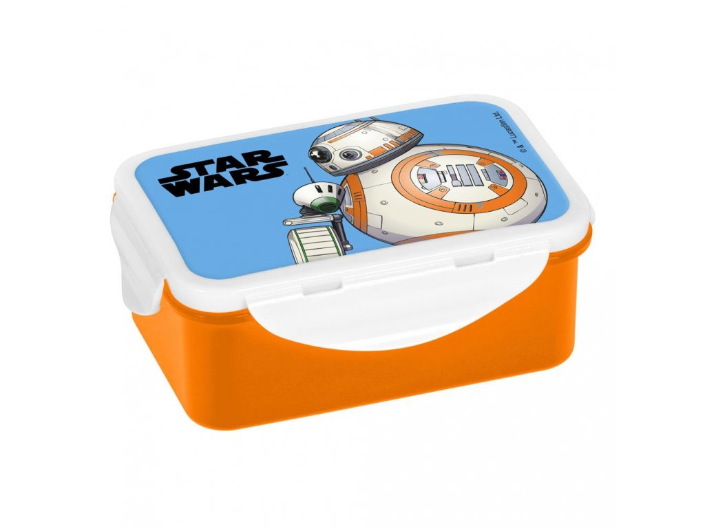 Star Wars IX Lunch Boxes BB-8 Case (6)