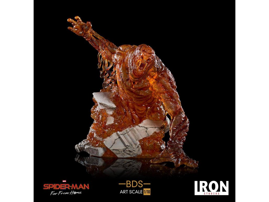 Spider-Man: Far From Home BDS Art Scale Deluxe Statue 1/10 Molten Man 26 cm