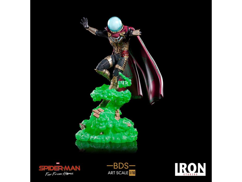 Spider-Man: Far From Home BDS Art Scale Deluxe Statue 1/10 Mysterio 24 cm --- DAMAGED PACKAGING