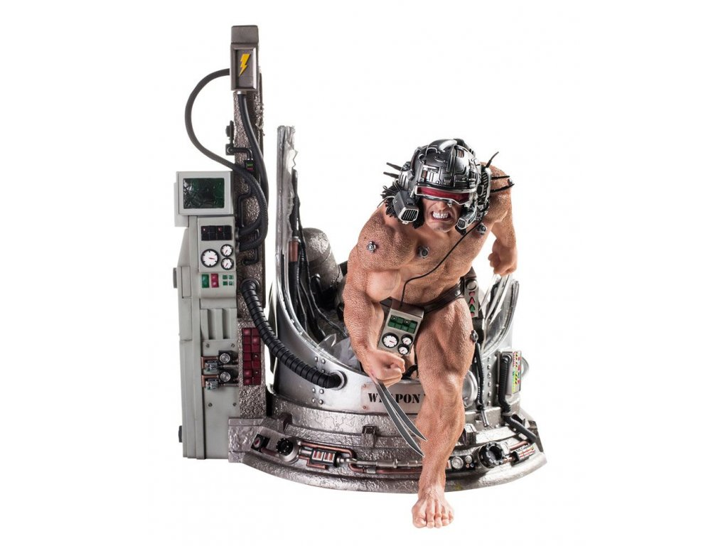 Marvel Comics Legacy Replica Statue 1/4 Weapon X 45 cm --- DAMAGED PACKAGING