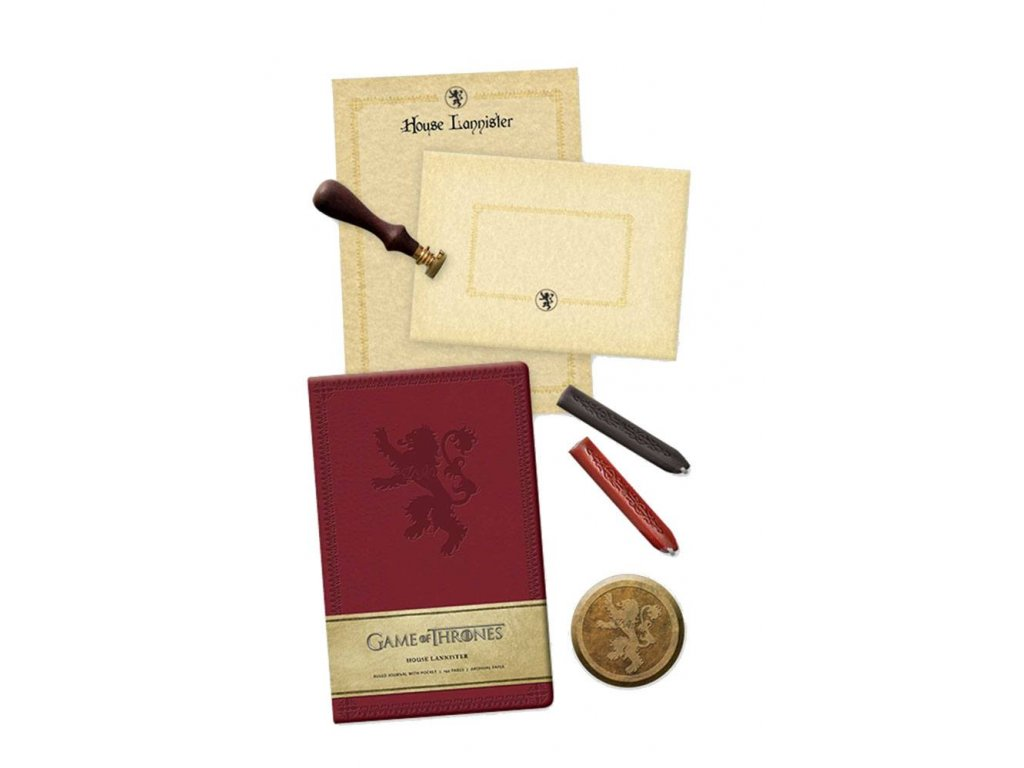 Game of Thrones Deluxe Stationery Set House Lannister --- DAMAGED PACKAGING
