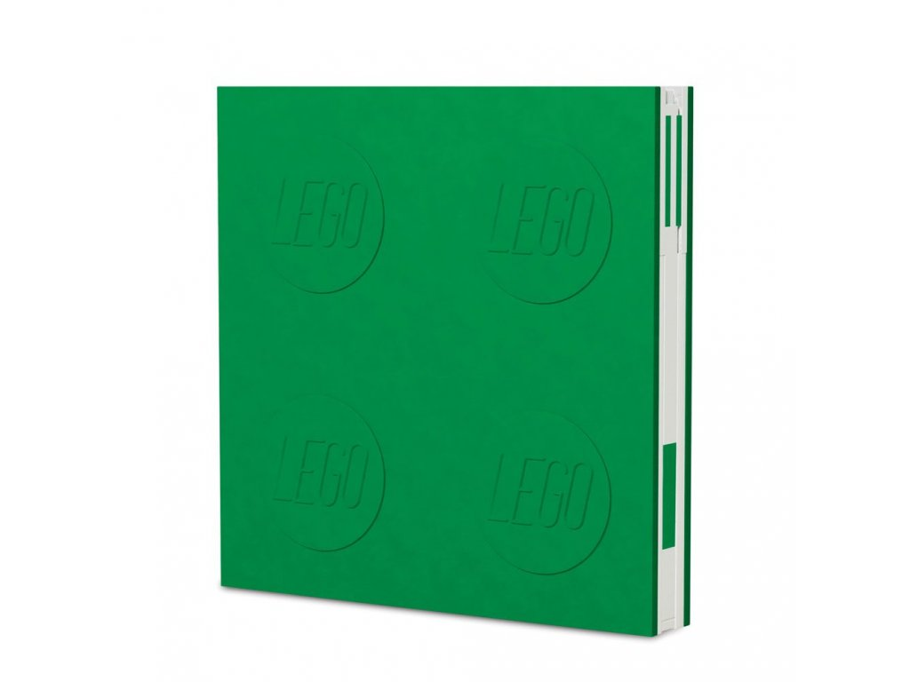 LEGO Notebook with Pen Green
