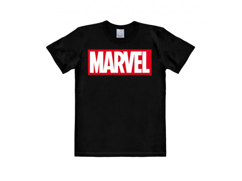 Marvel Easy Fit T-Shirt Box Logo Size S