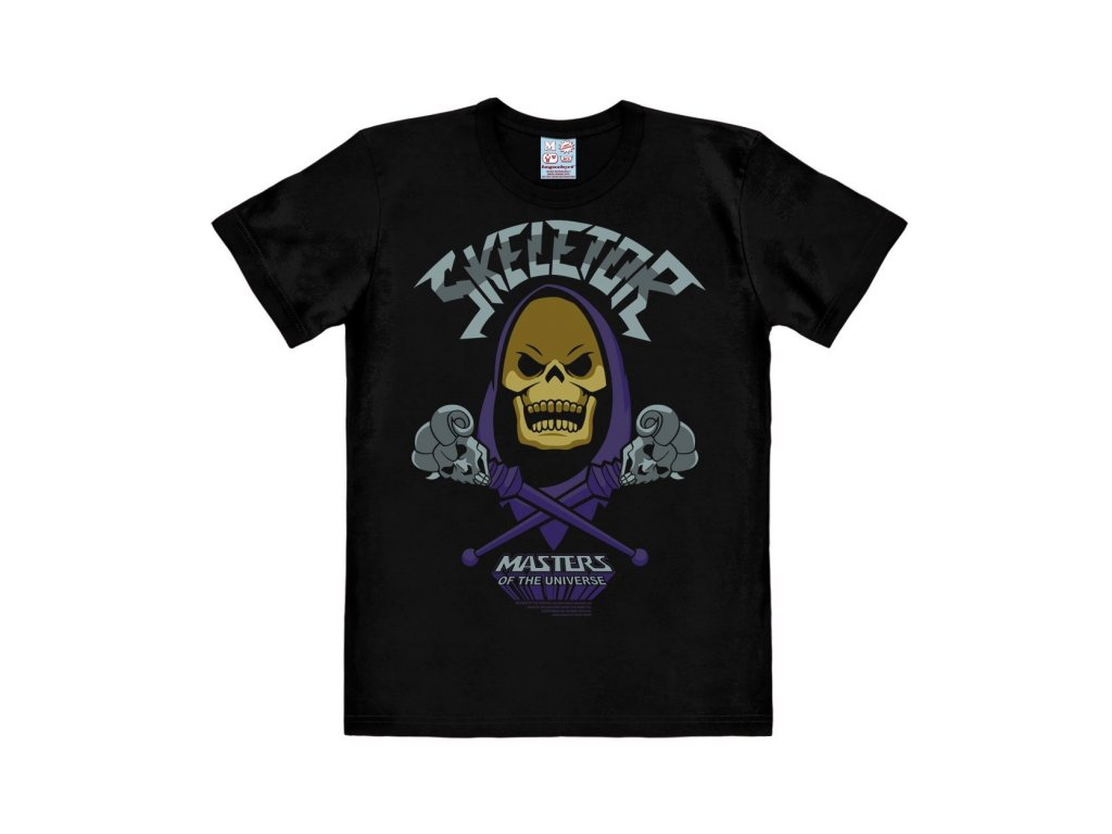 Masters of the Universe Easy Fit T-Shirt Skeletor Size M