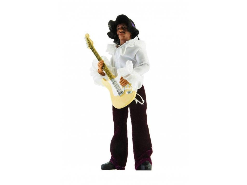 Jimi Hendrix Action Figure Miami Pop 20 cm --- DAMAGED PACKAGING