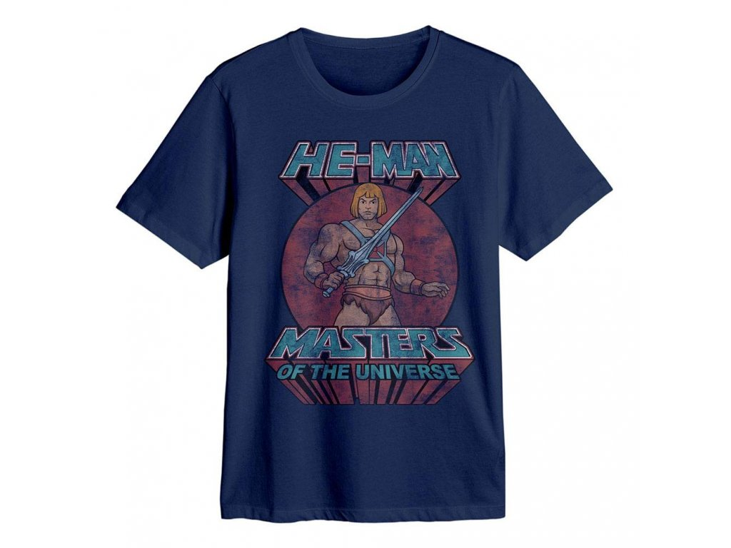 Masters of the Universe T-Shirt He-Man Sword Pose Size M