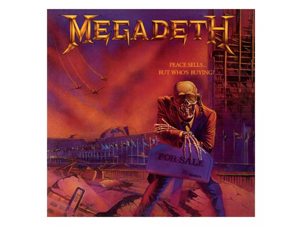 Megadeth Rock Saws Jigsaw Puzzle Peace Sells... But Who«s Buying (500 pieces)