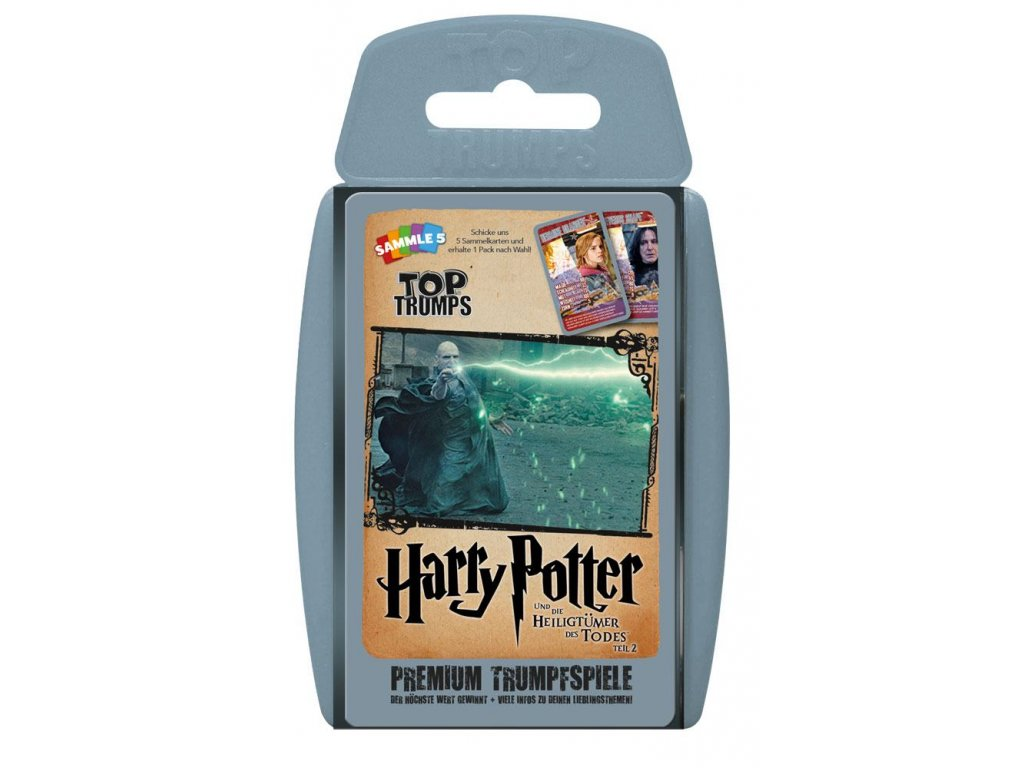 Harry Potter and the Deathly Hallows Part 2 Top Trumps *German Version*