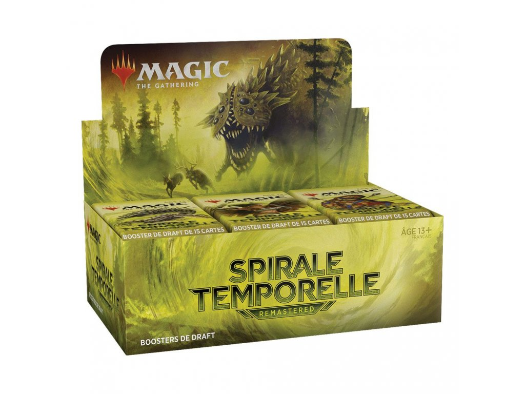 Magic the Gathering Spirale Temporelle Remastered Draft Booster Display (36) french