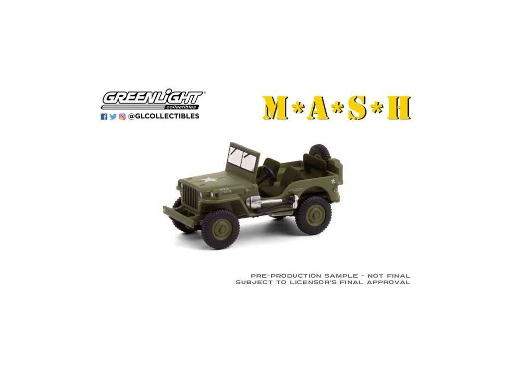 M*A*S*H Diecast Model 1/64 1942 Willys MB Jeep