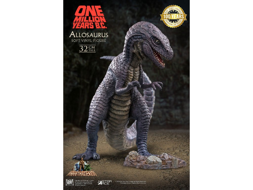 One Million Years B.C. Soft Vinyl Statue Allosaurus 32 cm