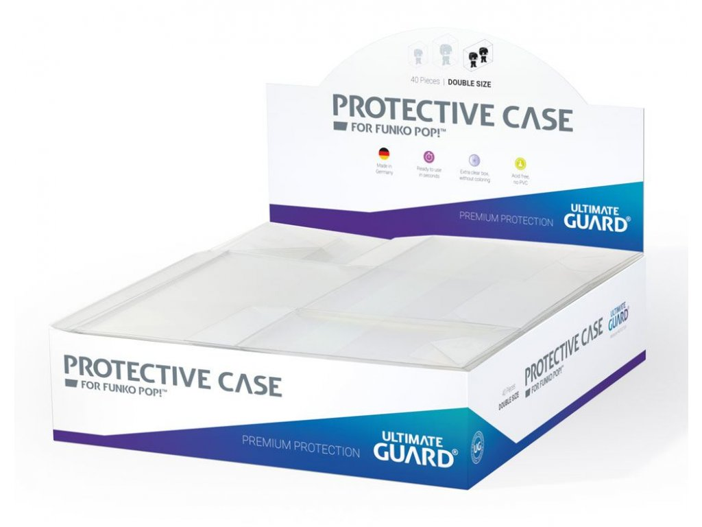 Ultimate Guard Protective Case for Funko POP!Ş Figures Double Size (40)