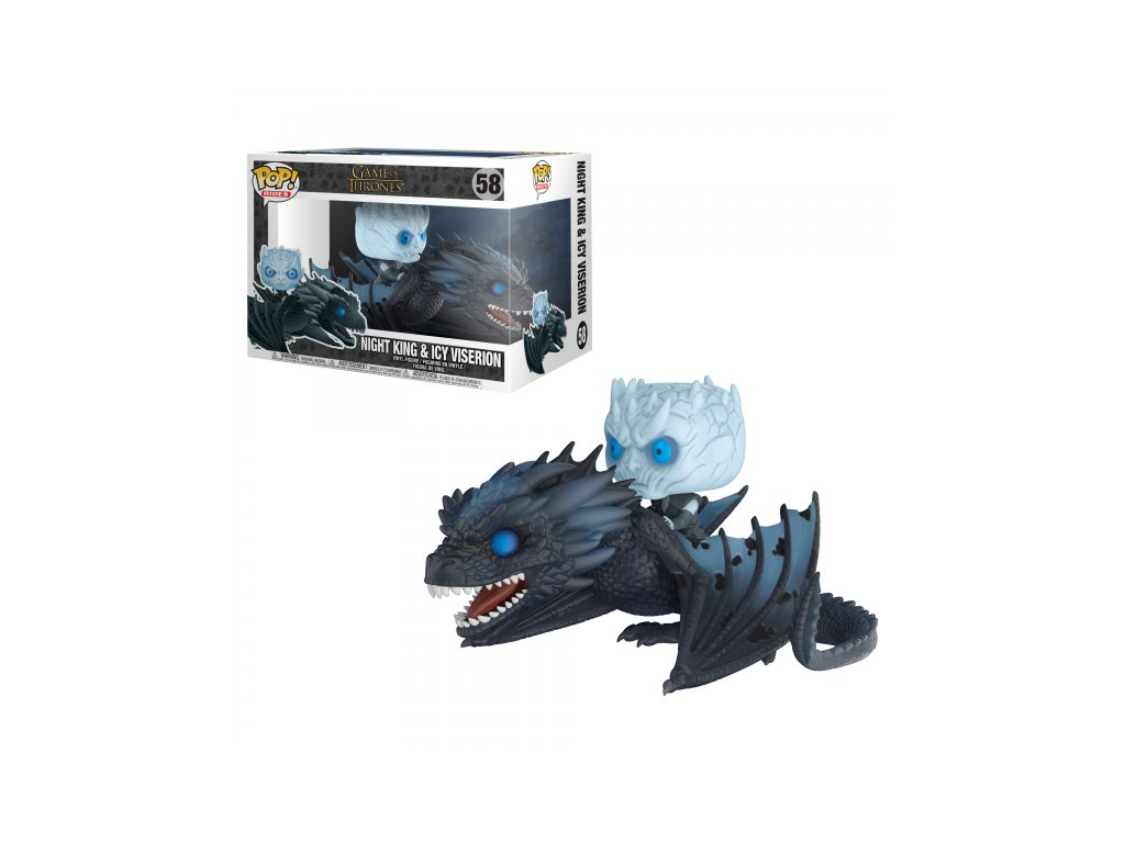 Funko POP Night King and Icy Viserion - Hra o trůny