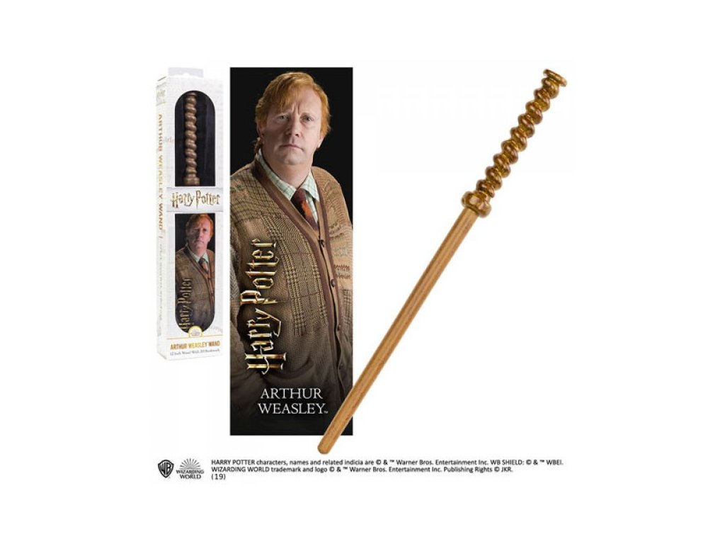 Harry Potter hůlka Arthur Weasley