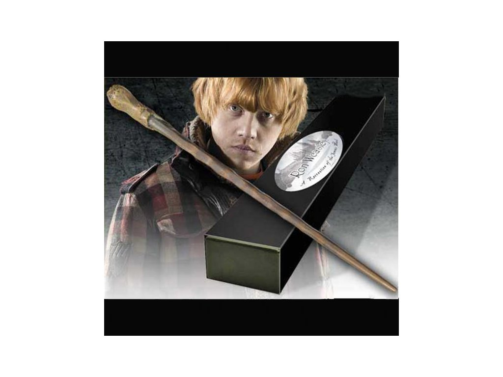Harry Potter hůlka Ron Weasley