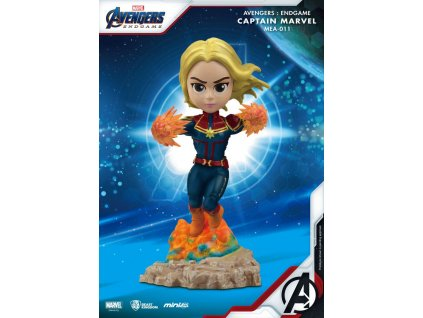 Avengers: Endgame Mini Egg Attack Figure Captain Marvel 10 cm