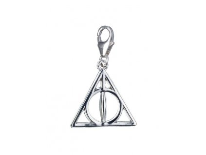 Harry Potter Clip-On Charm Deathly Hallows (Sterling Silver)