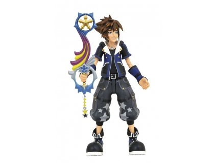 Kingdom Hearts 3 Select Action Figure Wisdom Form Toy Story Sora 18 cm