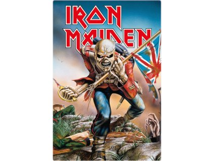 Iron Maiden Tin Sign Trooper 20 x 30 cm