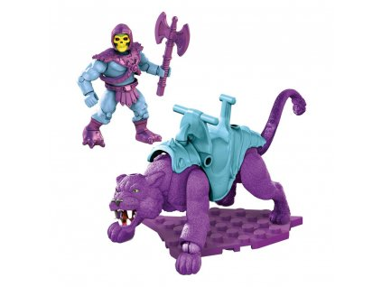 Masters of the Universe Mega Construx Probuilders Construction Set Skeletor & Panthor