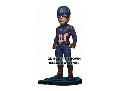 Avengers: Endgame Head Knocker Bobble-Head Captain America 20 cm