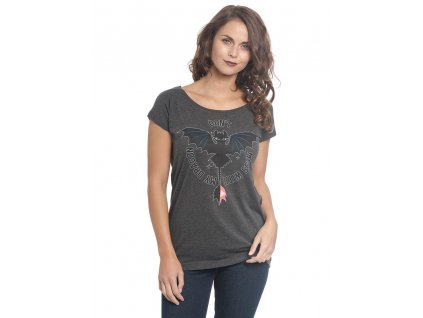 How to Train Your Dragon Ladies T-Shirt Don't Mess Size M