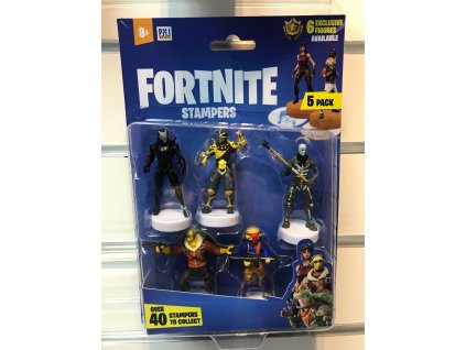 Fortnite Stamps 6 cm 5-Packs Assortment (24)