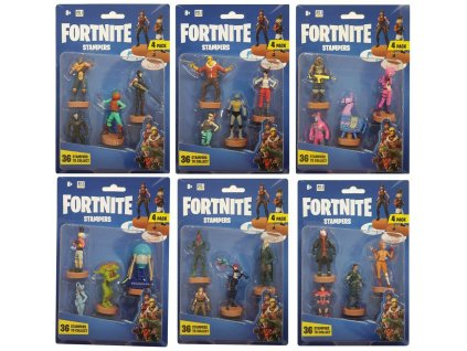 Fortnite Stamps 6 cm 3-Packs Assortment (24)