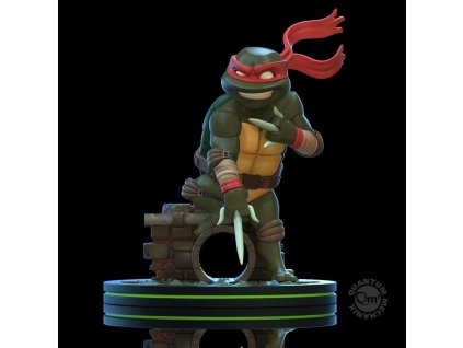 Teenage Mutant Ninja Turtles Q-Fig Figure Raphael 13 cm --- DAMAGED PACKAGING