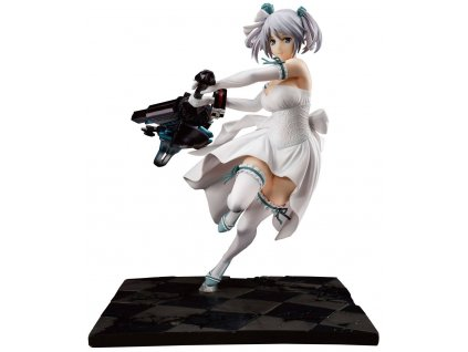 God Eater PVC Statue 1/7 Ciel Alenson Pure White Anniversary Dress Ver. 28 cm --- DAMAGED PACKAGING