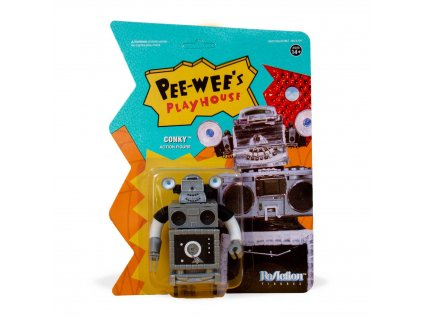 Pee-wee's Playhouse ReAction Action Figure Conky 10 cm