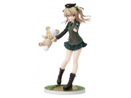 Girls und Panzer DreamTech PVC Statue 1/8 Alice Shimada Panzer Jacket Ver. 19 cm --- DAMAGED PACKAGING