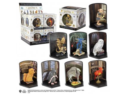 Harry Potter Magical Creatures Mystery Cube Statues 7 cm Display (8)