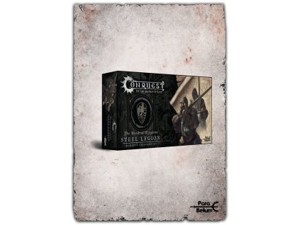 Conquest: The Last Argument of Kings Miniatures 12-Pack Hundred Kingdoms: Steel Legion