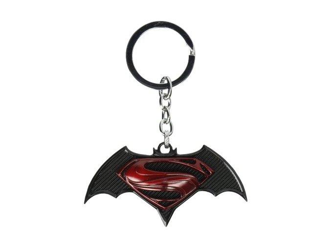 Prívesok na kľúče Superman/ Batman