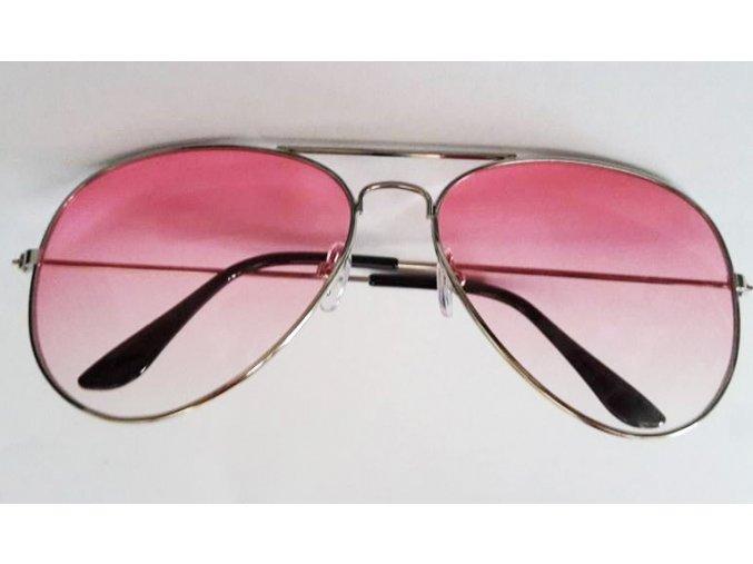 Slnečné okuliare ružové