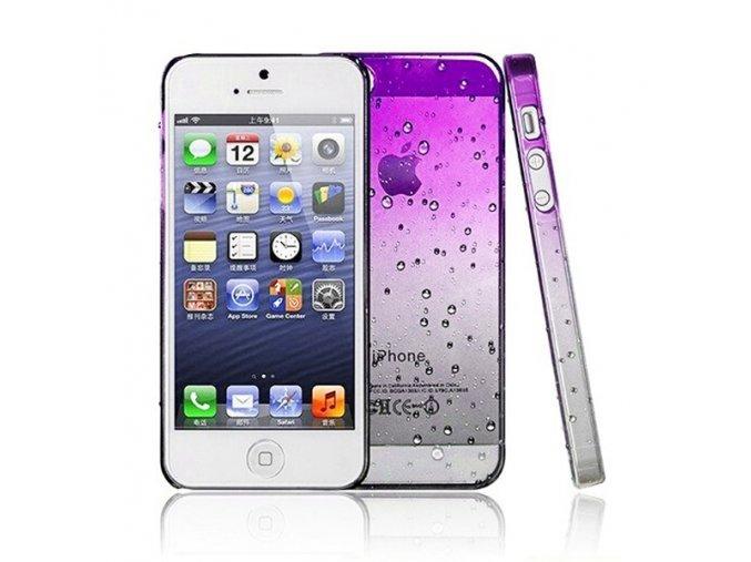 Apple Iphone 5 zadný plastový kryt fialový